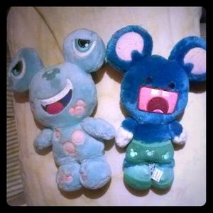 Mickey Monsters Murff & Bubbles Plushies!
